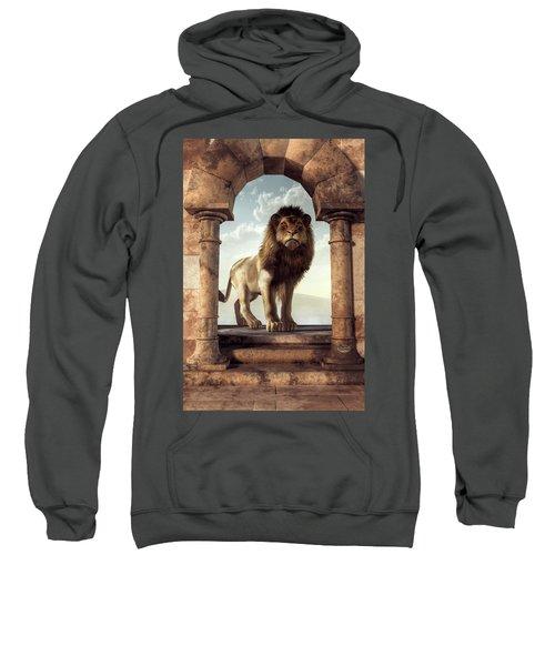 Door To The Lion's Kingdom Sweatshirt