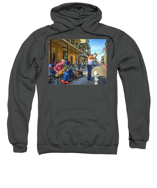Doreen's Jazz New Orleans - Paint Sweatshirt