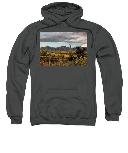 Dos Cabezas Grasslands At Dusk Sweatshirt