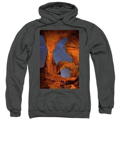 Double Arch At Night Sweatshirt