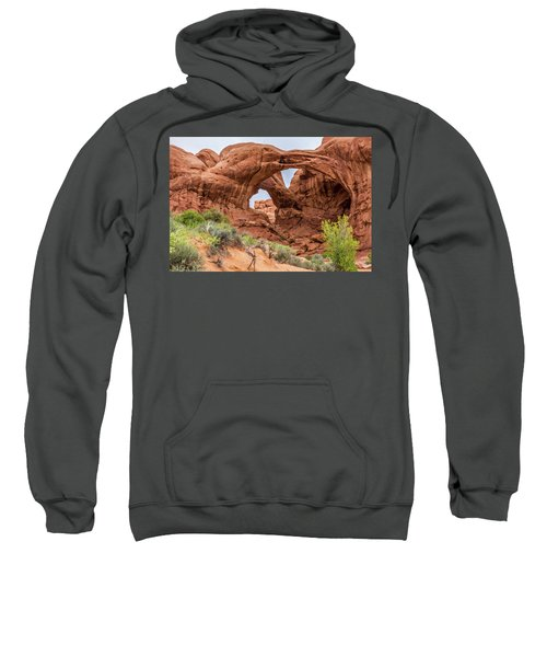 Double Arches, Arches National Park Sweatshirt
