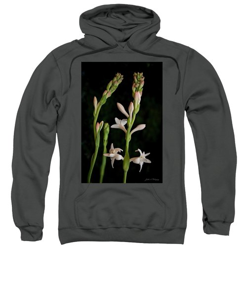 Double Tuberose In Bloom #2 Sweatshirt