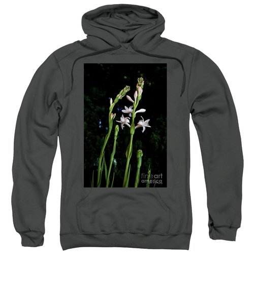 Double Tuberose In Bloom Sweatshirt