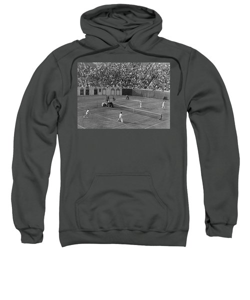 Doubles Tennis At Forest Hills Sweatshirt