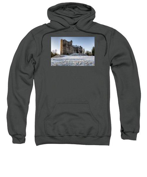 Doune Castle In Central Scotland Sweatshirt