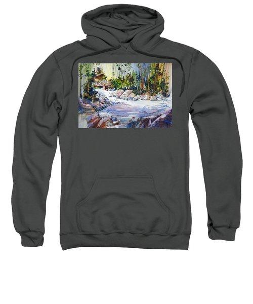 Down Stream On Hoppers Creek Sweatshirt