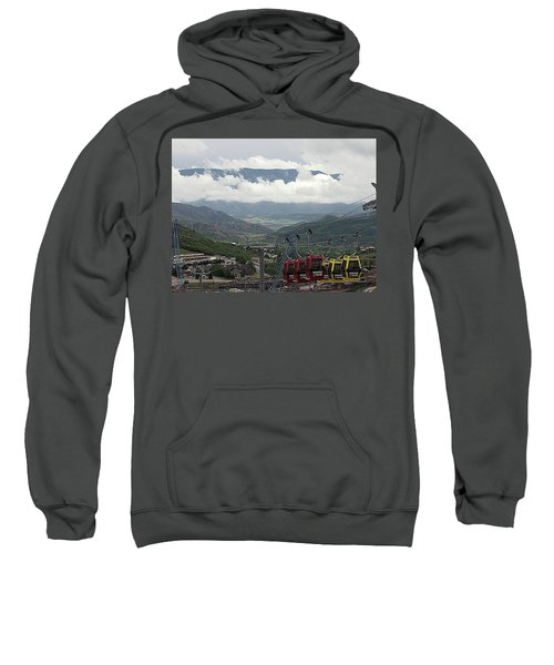Down The Valley At Snowmass Sweatshirt