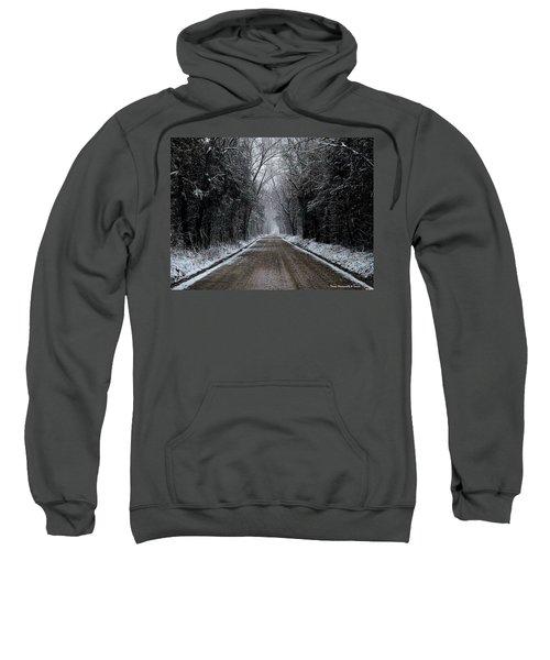 Down The Winter Road Sweatshirt