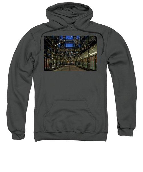 Downtown Christmas Decorations - Washington Sweatshirt