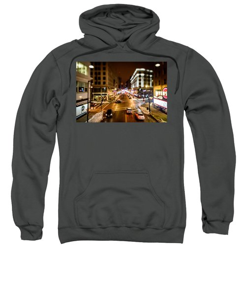 Downtown In The Itty-bitty City Sweatshirt