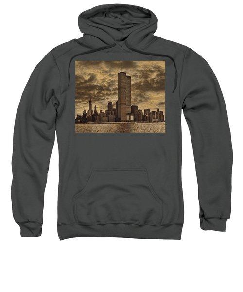 Downtown Manhattan Circa Nineteen Seventy Nine  Sweatshirt