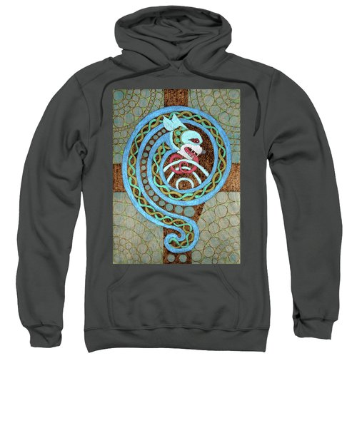 Dragon And The Circles Sweatshirt