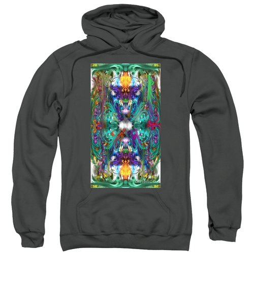 Dragons Of The Temple Sweatshirt