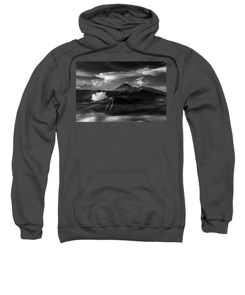 Dramatic View Of Mount Bromo Sweatshirt
