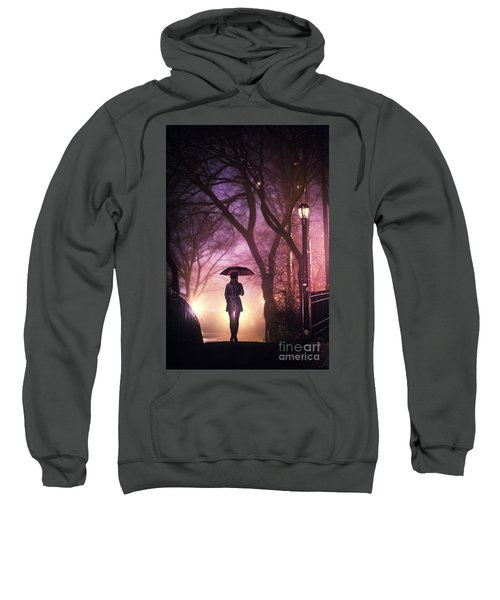 Dream Beneath Winter Rain Sweatshirt