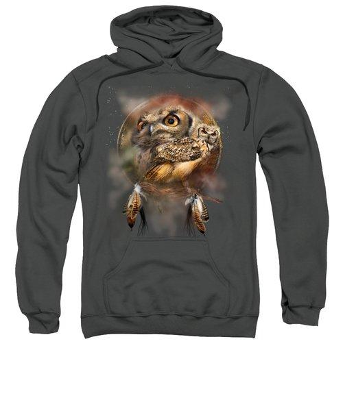 Dream Catcher - Spirit Of The Owl Sweatshirt