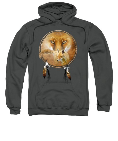 Dream Catcher- Spirit Of The Red Fox Sweatshirt