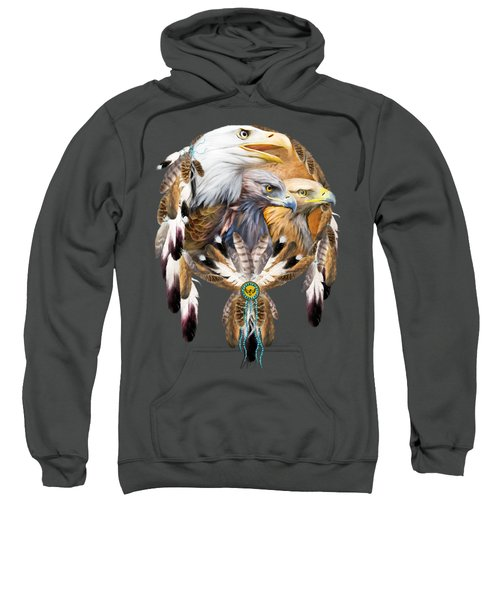 Dream Catcher - Three Eagles Sweatshirt
