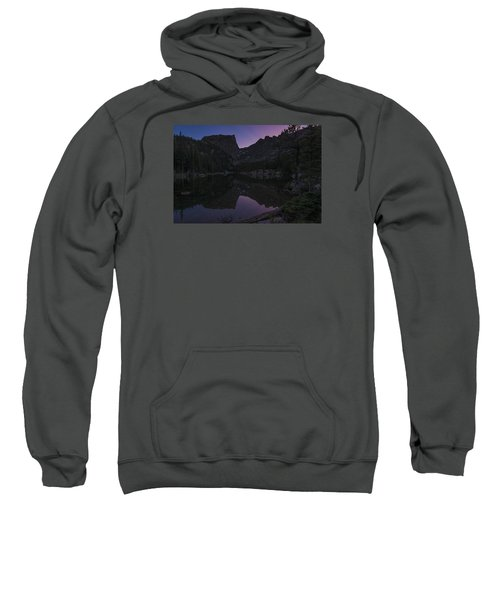 Sweatshirt featuring the photograph Dream Lake Reflections by Gary Lengyel