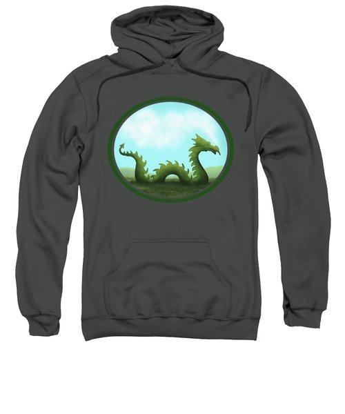 Dream Of A Dragon Sweatshirt by Little Bunny Sunshine
