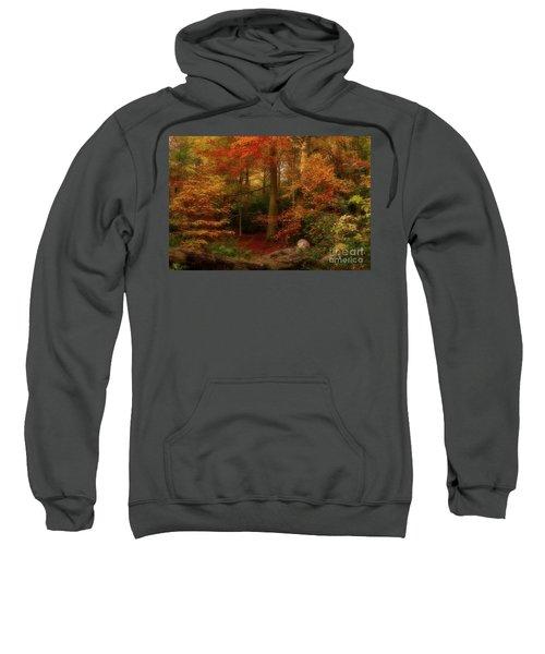 Dreamy Forest Glade In Fall Sweatshirt
