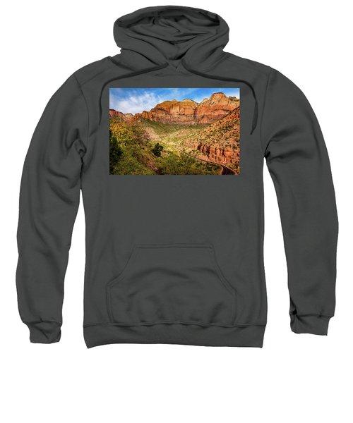 Driving Into Zion Sweatshirt