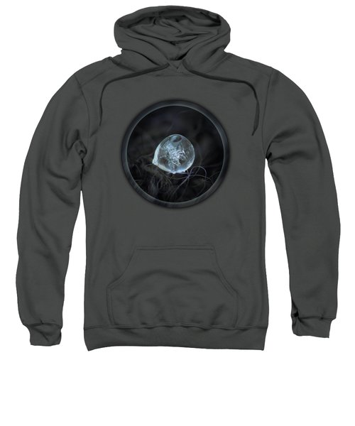 Drop Of Ice Rain Sweatshirt