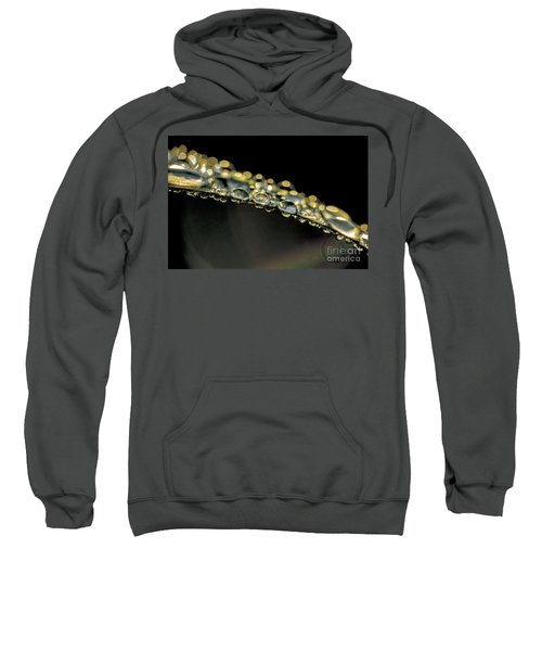 Drops On The Green Grass Sweatshirt