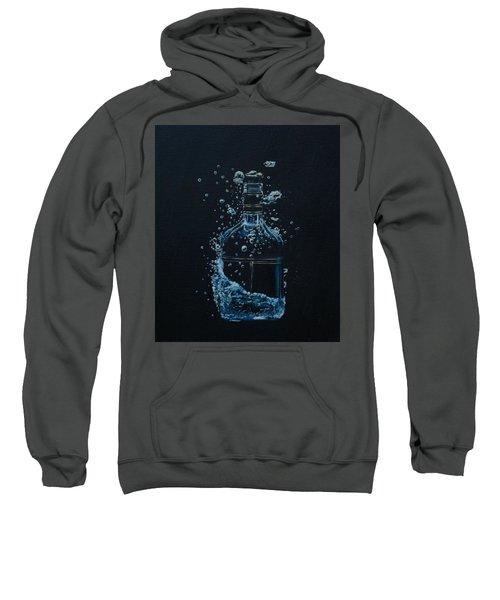 Dry, Bottle Art Sweatshirt