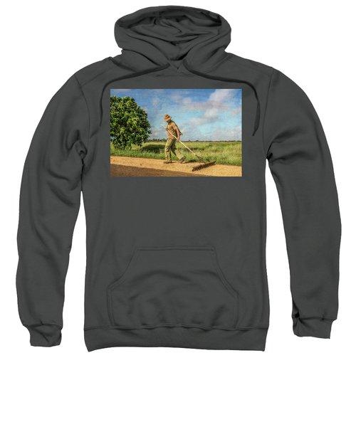 Drying Rice Sweatshirt