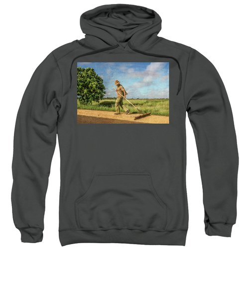 Drying Rice Sweatshirt