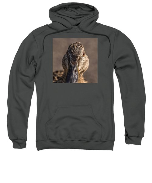 Duck Headshot Sweatshirt
