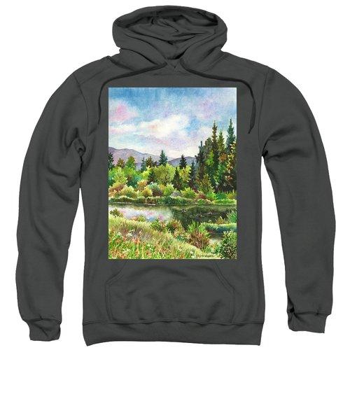 Duck Pond At Caribou Ranch Sweatshirt