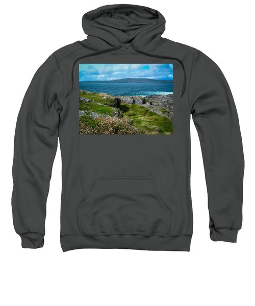 Sweatshirt featuring the photograph Dunmanus Bay Seascape by James Truett