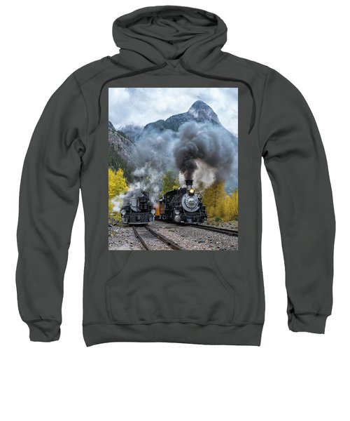 Durango Silverton Train Sweatshirt