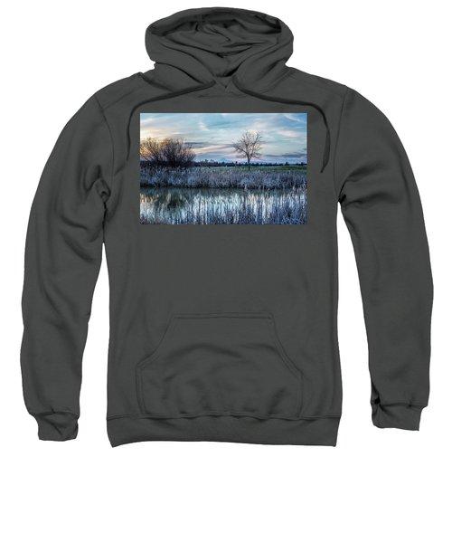 Dusk At The Pond Sweatshirt