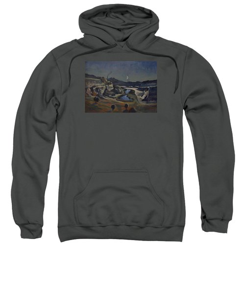 Dusk Over The Sint Pietersberg Sweatshirt