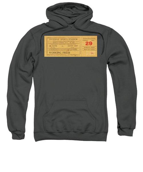 Dyckman Oval Ticket Sweatshirt by Cole Thompson