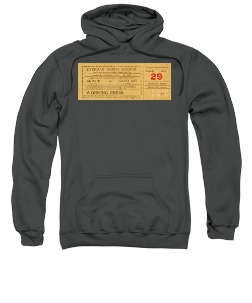 Dyckman Oval Ticket Sweatshirt