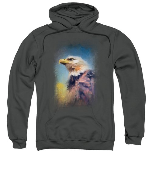 Eagle On Guard Sweatshirt