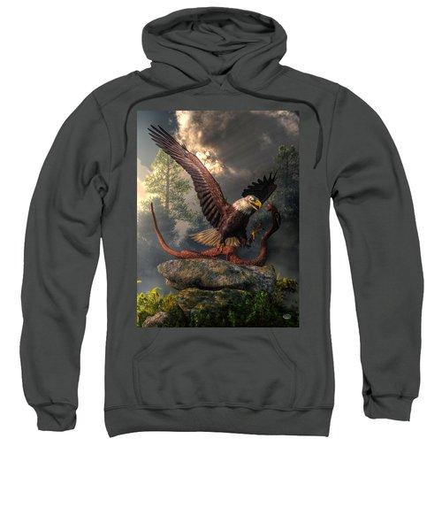 Eagle Vs Cobra Sweatshirt