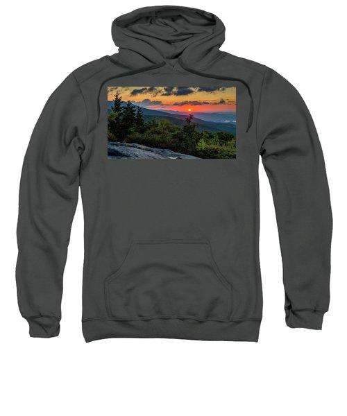 Blue Ridge Parkway Sunrise - Beacon Heights - North Carolina Sweatshirt