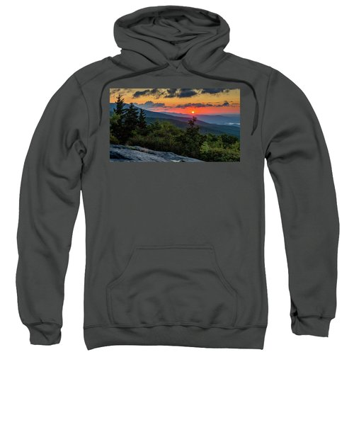 Blue Ridge Parkway Sunrise - Beacon Heights - North Carolina Sweatshirt