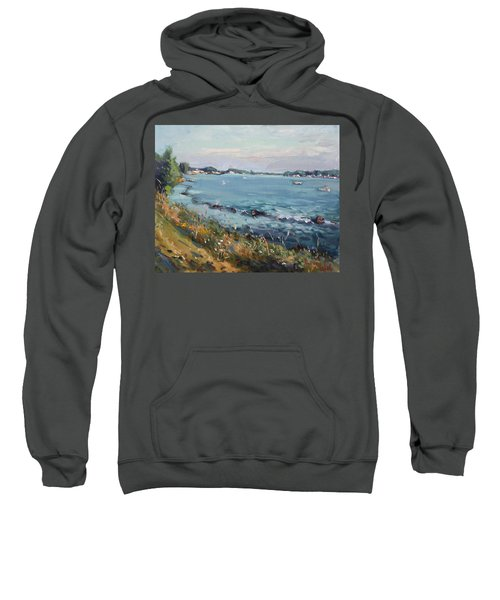 Early Evening At Gratwick Waterfront Park Sweatshirt