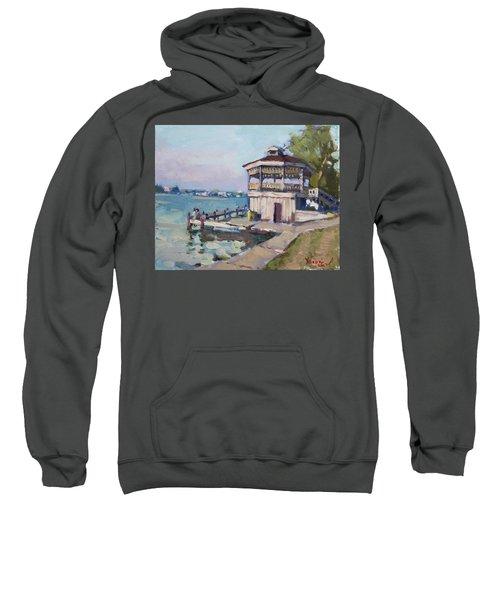 Early Evening At Niawanda Park Sweatshirt