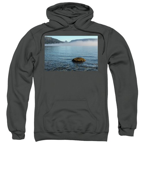 Sweatshirt featuring the photograph Early Morning At Lake St Clair by Werner Padarin