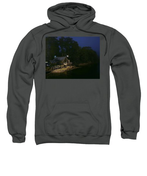 Early Morning On The River Sweatshirt
