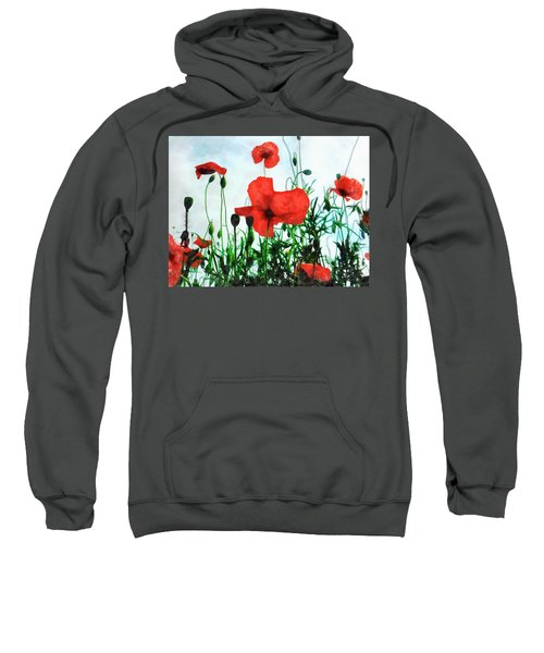 Early Morning Poppy Moment Sweatshirt