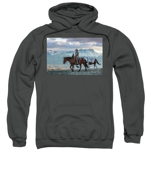 Early October Hunt Wild West Photography Art By Kaylyn Franks Sweatshirt