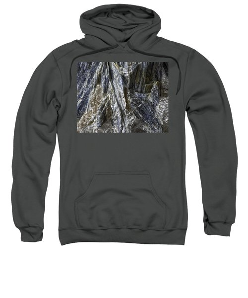 Earth Portrait Kyanite 001-089 Sweatshirt